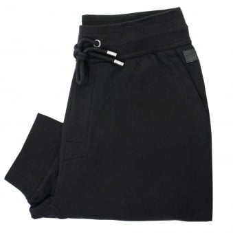 Hugo Boss Long Pant Cuffs Black Sweatpants 50322108