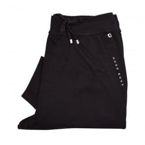 Hugo Boss Long Pant Cuffs Black Track Pants 50310548