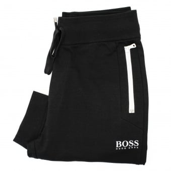 Hugo Boss Long Pant Cuffs Black Track Pants 50331002