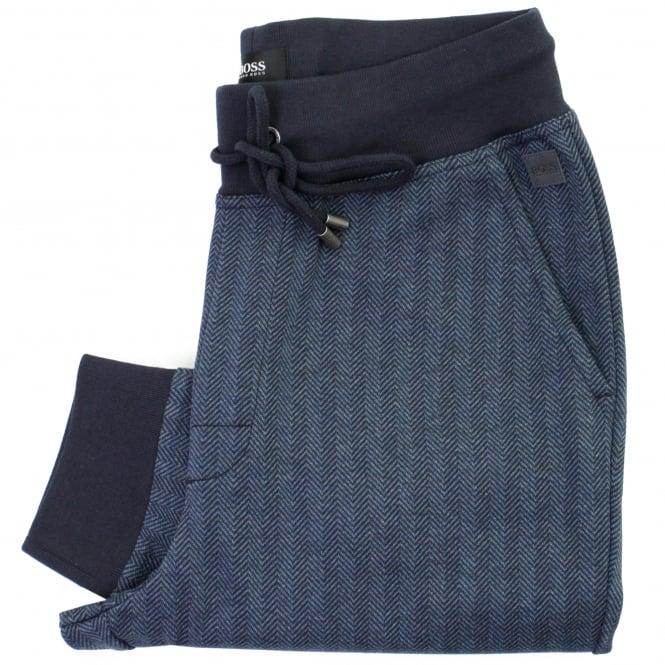 BOSS Hugo Boss Hugo Boss Long Pant Cuffs Dark Blue Track Pants 50326820