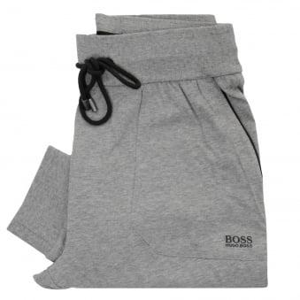 Hugo Boss Long Pant Cuffs Medium Grey Pyjama Bottoms 50321984