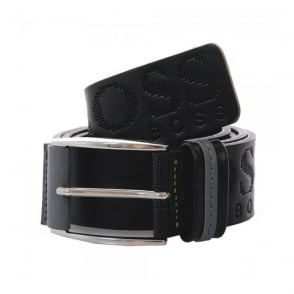 Hugo Boss Millow Black Leather Belt 50202917