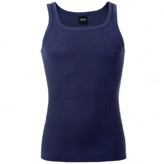 Hugo Boss Navy Tank Top 24 50285408