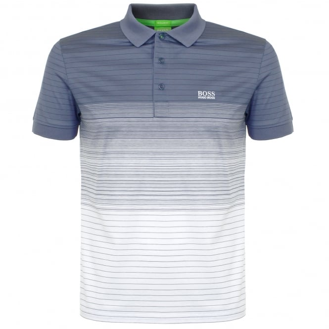 Boss Green Hugo Boss Paddy 3 Grey Polo Shirt 50326132