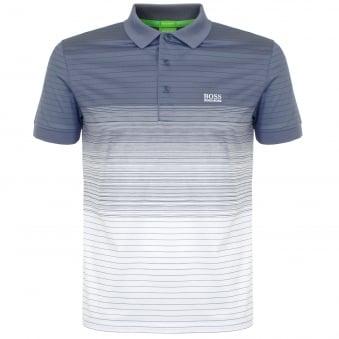 Hugo Boss Paddy 3 Grey Polo Shirt 50326132