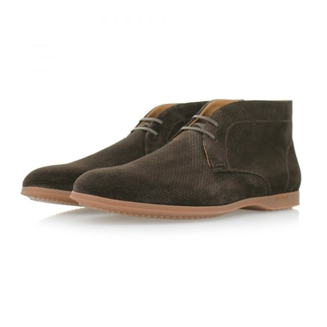 BOSS Hugo Boss Hugo Boss Sodeser Dark Brown Boots 50310603