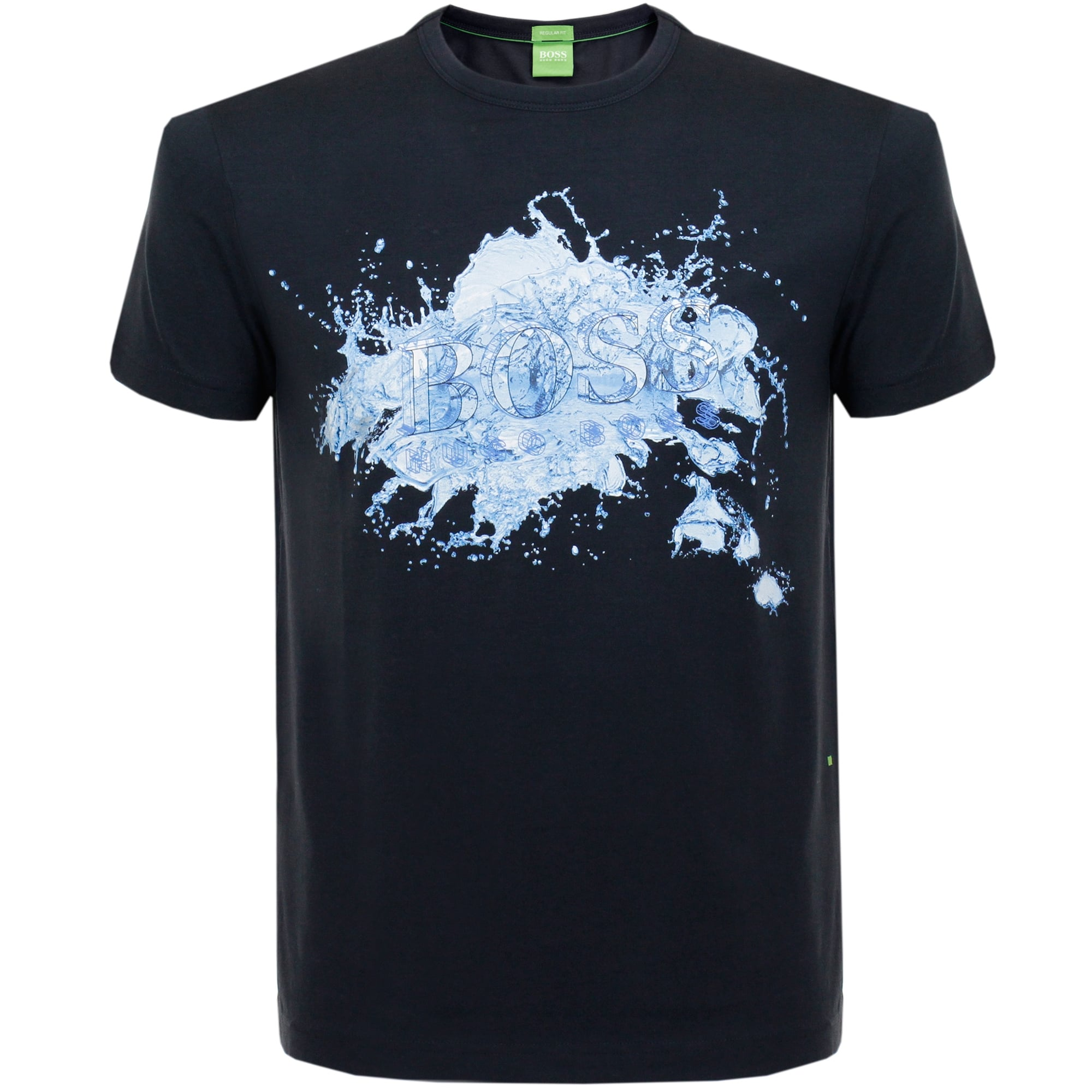 Hugo boss store online tee 8 navy t shirt for Hugo boss t shirts online