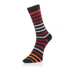 Hugo Boss Two Pack Soft Cotton Charcoal Socks 50308097