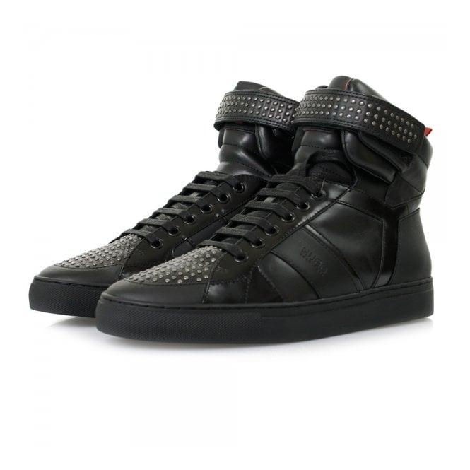 Hugo by Hugo Boss Fulten Mid Black Shoes 50298477