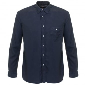 Human Scales Jeffrey Navy Shirt SH170119