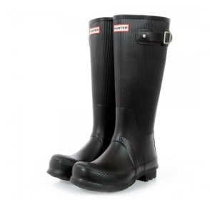 Hunter Original Ribbed Leg Wellington Boots MFT9000RRL
