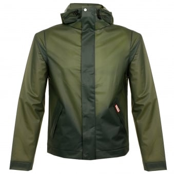 Hunter Original Vinyl Dark Olive Windcheater MRO4145VAD