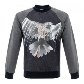 Iceberg 5C Grey Navy Sweatshirt 8955