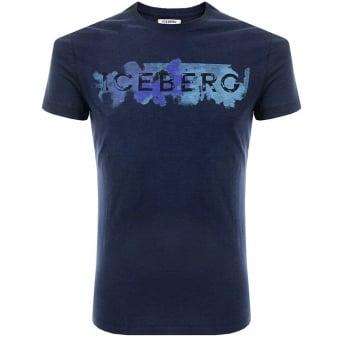 Iceberg D5 Navy T Shirt 6345 6689