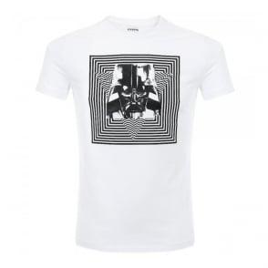Iceberg Dark Vader White T Shirt 631411
