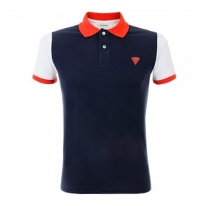 Iceberg L5 Navy Polo Shirt P6308