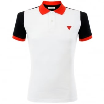 Iceberg L5 White Polo Shirt P5201