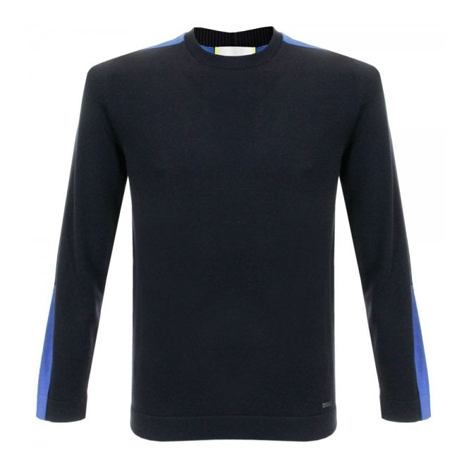 Iceberg Clothing Iceberg Maglia Black Crewneck Knitted Jumper A0487604