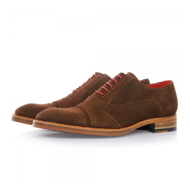 Jeffery West Crall Bonham Honey Suede Shoes JWCB