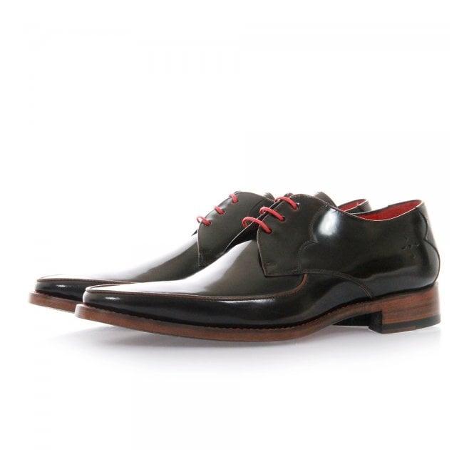 Jeffery West Get Back Harrison Brown Leather Shoes