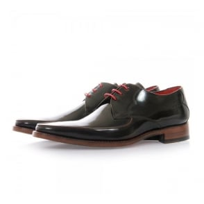 Jeffery West Get Back Harrison Brown Leather Shoes