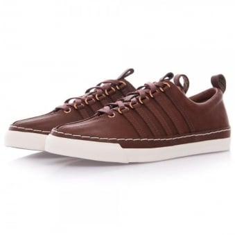 K-Swiss X Billy Reid Arlington VT Cinnamon Leather Shoes 03422-270