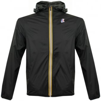 K-Way Claude Le Vrai 3.0 Black Pac-a-Mac Jacket