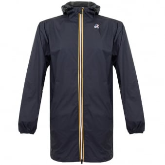 K-Way Le Vrai Eiffel 3.0 Depht Blue Trench Coat