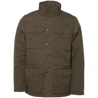 Khaki Raven Winter Jacket