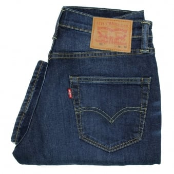Levi's 511 Brutus Slim Fit Denim Jeans 04511-1906