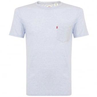 Levi's Pocket Cashmere Blue T-Shirt 15798-0047