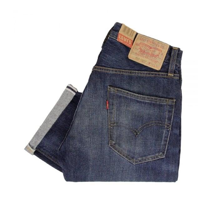 Levi's Vintage ® Levis Vintage 1967 505 Blue Selvage Denim Jeans 67505-0076