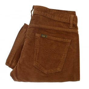 Lois Jeans New Dallar Jumbo Brown Corduroy Trousers 199