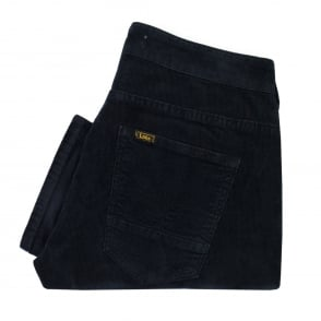 Lois Sierra Thin Navy Corduroy Trousers 5083