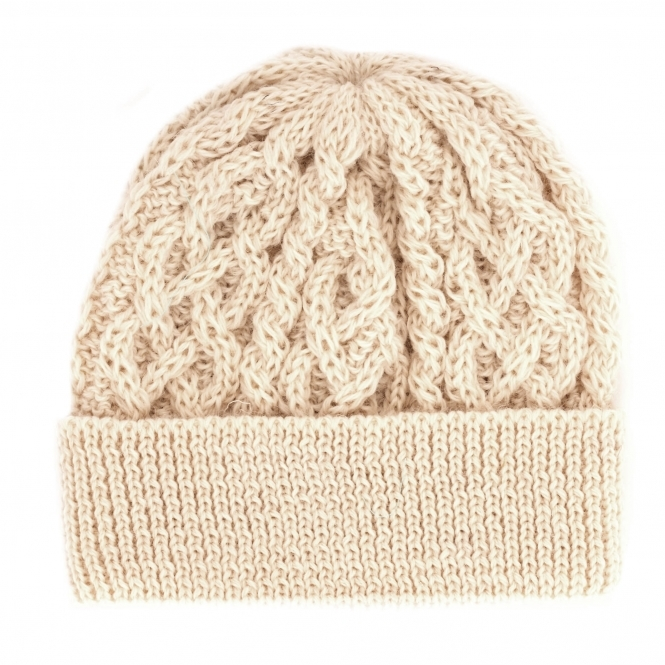 8971aa80753 None Of The Above Made In England Cable Knit Beanie