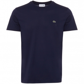 Marine Crew Neck Pima Cotton T-Shirt