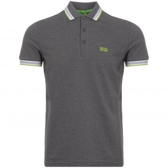 Medium Grey Paddy Polo Shirt