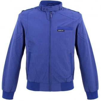 Members Only Iconic Racer Jacket Royal Blue 7C-1000