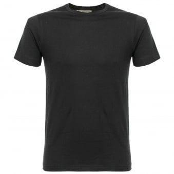 Merz B Schwanen 1950's Organic Cotton Black T-Shirt