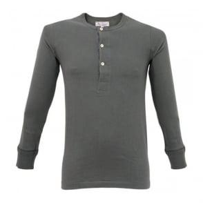 Merz B. Schwanen Button Facing Navy Polo Shirt 157