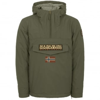 Military Green Rainforest Winter Jacket