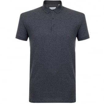 Minimum Emerald Charcoal Melange Polo Shirt 11507052
