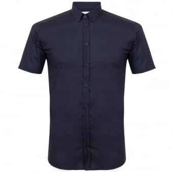 Minimum Fulton Navy Shirt 124020999