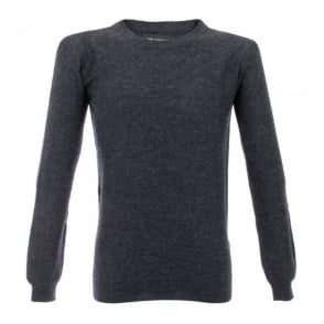 Minimum Jadon Knit Charcoal Melange Jumper M3239GS3