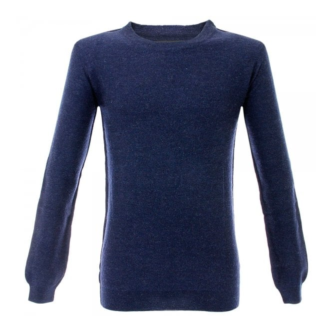 Minimum Jadon Knit Dark Navy Melange Jumper M3239GS3