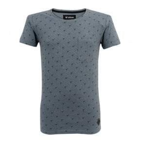 Minimum Madai Slate Blue T-Shirt 1118EL7