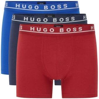 Multicoloured Strech Cotton Boxers - 3PK