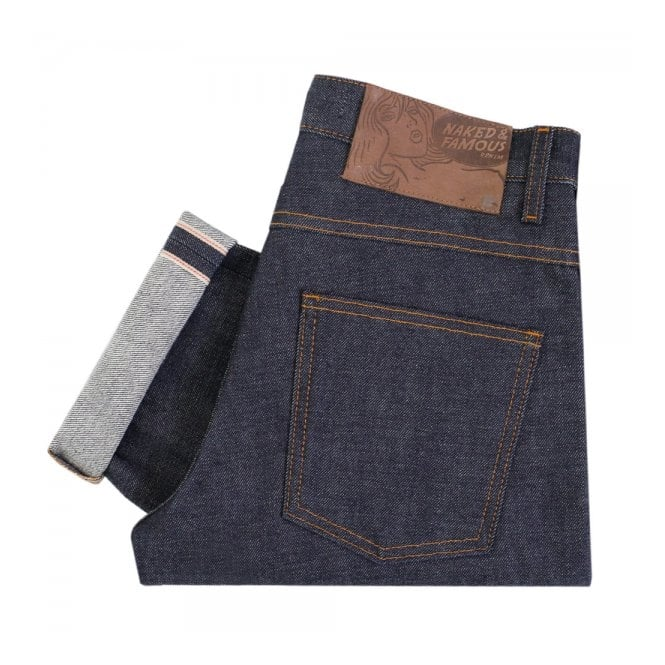 Naked and Famous Denim Naked and Famous Dirty Fade Selvedge Denim 018532