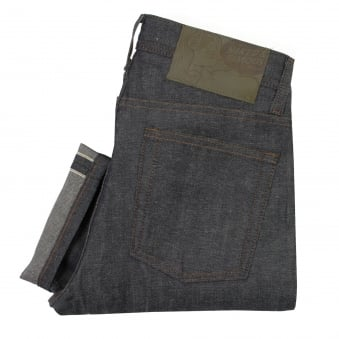 Naked and Famous Weird Guy Hemp Blend Selvedge Denim Jeans