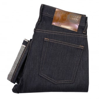 Naked and Famous Weird Guy Kaiju Monster Indigo Selvedge Jeans